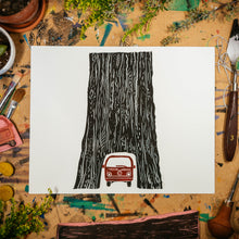 "Load image into Gallery viewer, Tunnel Tree | 8x10"" Print"