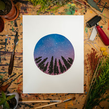 "Load image into Gallery viewer, Night Stars | 11x14"" Print"