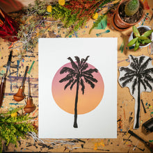 "Load image into Gallery viewer, Sunset Palm | 11x14"" Print"