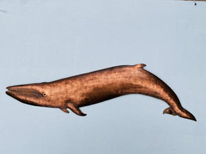 Fin Whale Wall Hanging