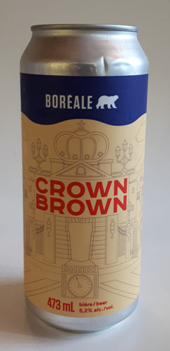 Brasserie Boréale Crown Brown 473ml