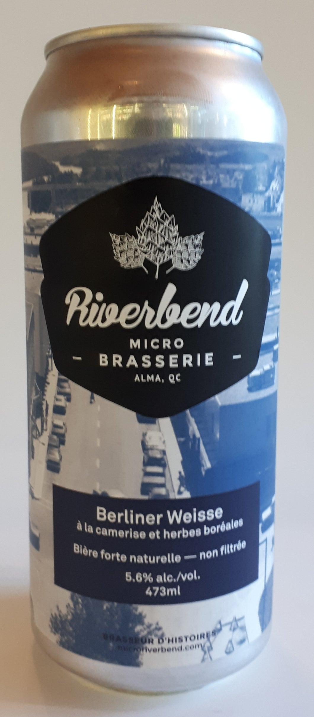 Microbrasserie Riverbend Berliner Camerise 473ml