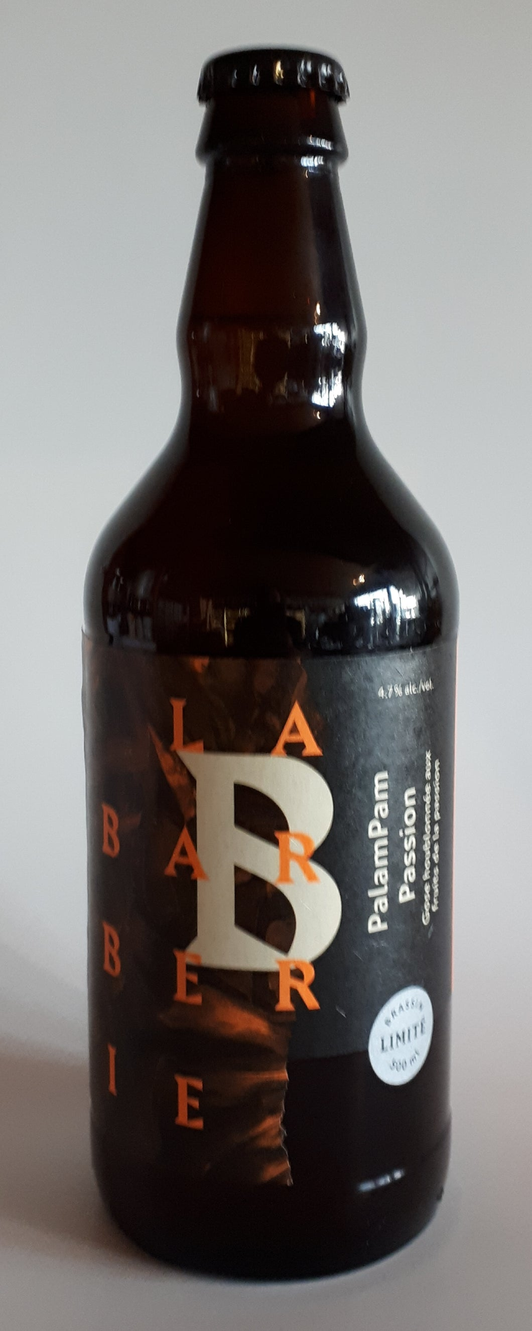Microbrasserie Barberie Palampam Passion 500ml