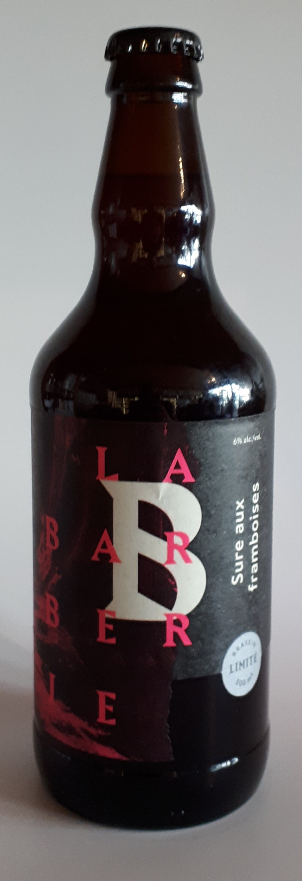 Microbrasserie Barberie Sure aux Framboises 500ml