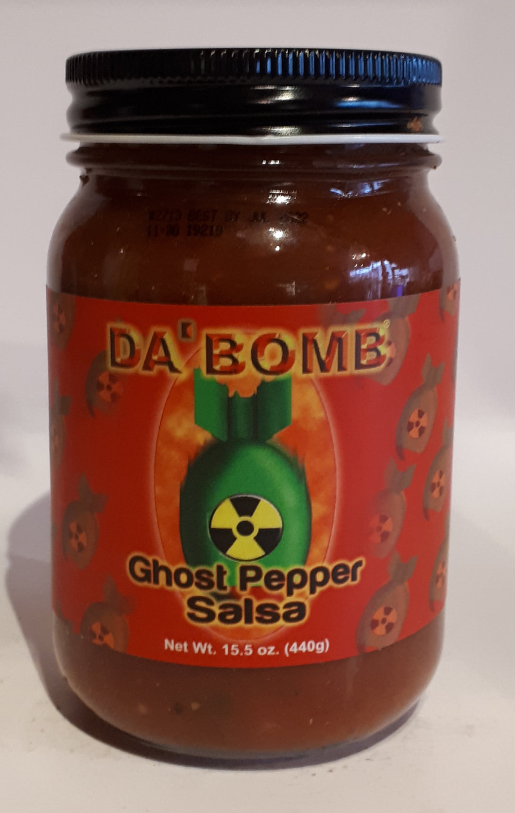 Da'Bomb Salsa Ghost Pepper 440g