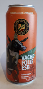 Microbrasserie Charlevoix Vache Folle Rousse 473ml
