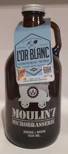 Microbrasserie Moulin 7 l'Or Blanc 950ml