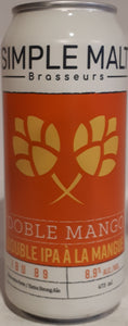 Microbrasserie Simple Malt Doble Mango 473ml
