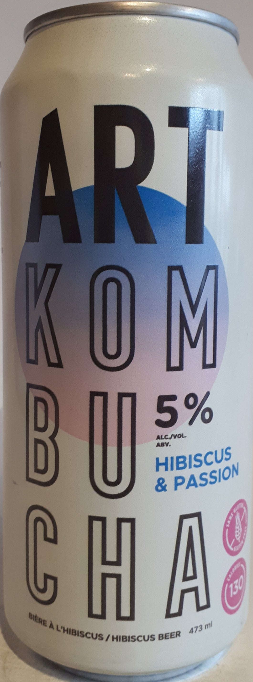 Art Kombucha Hibiscus et Passion 473ml