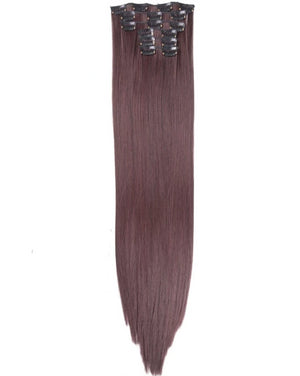 Medium Brown Lush Hair Extensions