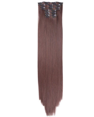 Soft Brown Lush Hair Extensions