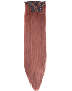 Natural Red Lush Hair Extensions