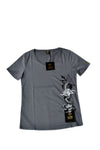 Independent fashion PW rising embroidered limited edition T-shirt