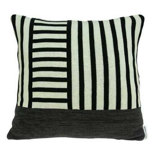 Modern Grid Lines Black and White Pillow Cover - 100% Authentic Luxury Men's & Women's Fragrances, Cosmetics & Pillows