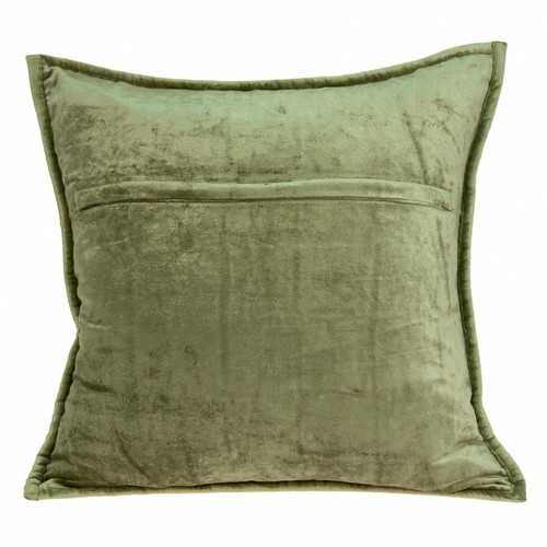 "20"" x 0.5"" x 20"" Transitional Olive Solid Quilted Pillow Cover - 100% Authentic Luxury Men's & Women's Fragrances, Cosmetics & Pillows"