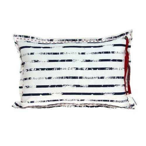 "20"" x 6"" x 14"" Nautical White Pillow Cover With Poly Insert - 100% Authentic Luxury Men's & Women's Fragrances, Cosmetics & Pillows"