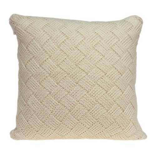 "20"" x 7"" x 20"" Transitional Beige Pillow Cover With Down Insert - 100% Authentic Luxury Men's & Women's Fragrances, Cosmetics & Pillows"
