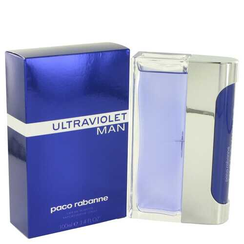 ULTRAVIOLET by Paco Rabanne Eau De Toilette Spray 3.4 oz (Men) - 100% Authentic Luxury Men's & Women's Fragrances, Cosmetics & Pillows
