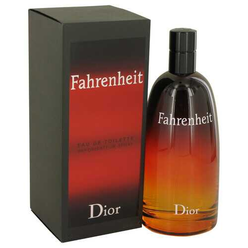 FAHRENHEIT by Christian Dior Eau De Toilette Spray 6.8 oz (Men) - 100% Authentic Luxury Men's & Women's Fragrances, Cosmetics & Pillows