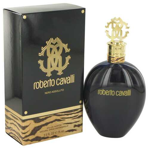 Roberto Cavalli Nero Assoluto by Roberto Cavalli Eau De Parfum Spray 2.5 oz (Women) - 100% Authentic Luxury Men's & Women's Fragrances & Cosmetics