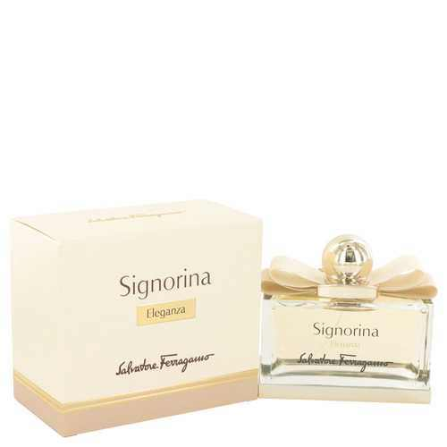 Signorina Eleganza by Salvatore Ferragamo Eau De Parfum Spray 3.4 oz (Women) - 100% Authentic Luxury Men's & Women's Fragrances, Cosmetics & Pillows