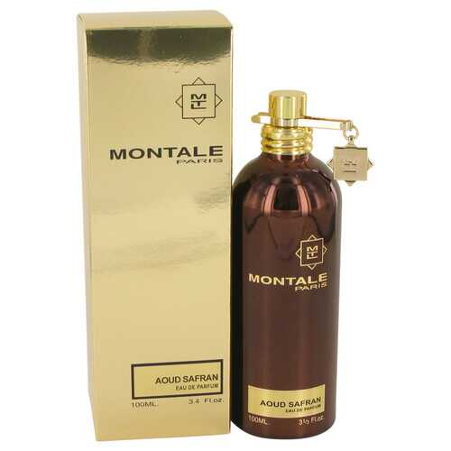 Montale Aoud Safran by Montale Eau De Parfum Spray 3.4 oz (Women) - 100% Authentic Luxury Men's & Women's Fragrances, Cosmetics & Pillows