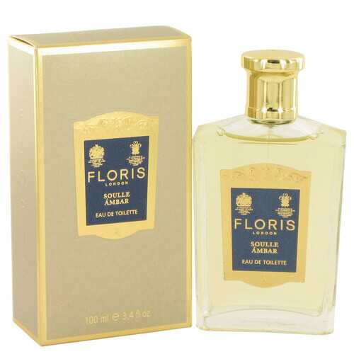 Floris Soulle Ambar by Floris Eau De Toilette Spray 3.4 oz (Women) - 100% Authentic Luxury Men's & Women's Fragrances, Cosmetics & Pillows