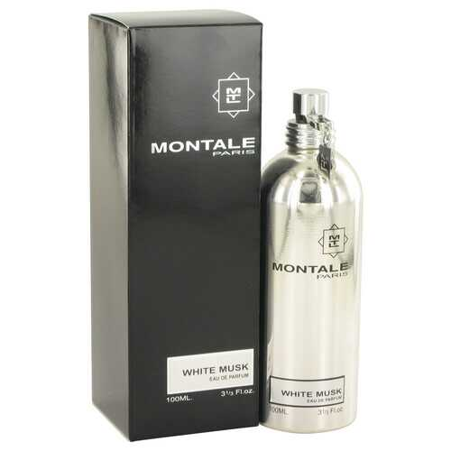 Montale White Musk by Montale Eau De Parfum Spray 3.3 oz (Women) - 100% Authentic Luxury Men's & Women's Fragrances, Cosmetics & Pillows