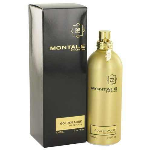 Montale Golden Aoud by Montale Eau De Parfum Spray 3.3 oz (Women) - 100% Authentic Luxury Men's & Women's Fragrances, Cosmetics & Pillows