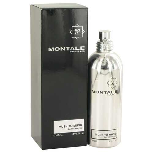 Montale Musk To Musk by Montale Eau De Parfum Spray (Unisex) 3.4 oz (Women) - 100% Authentic Luxury Men's & Women's Fragrances, Cosmetics & Pillows