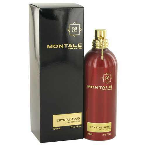 Montale Crystal Aoud by Montale Eau De Parfum Spray 3.3 oz (Women) - 100% Authentic Luxury Men's & Women's Fragrances, Cosmetics & Pillows