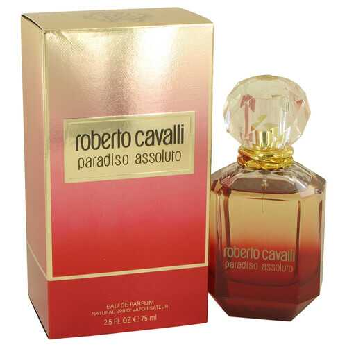 Roberto Cavalli Paradiso Assoluto by Roberto Cavalli Eau De Parfum Spray 2.5 oz (Women) - 100% Authentic Luxury Men's & Women's Fragrances & Cosmetics