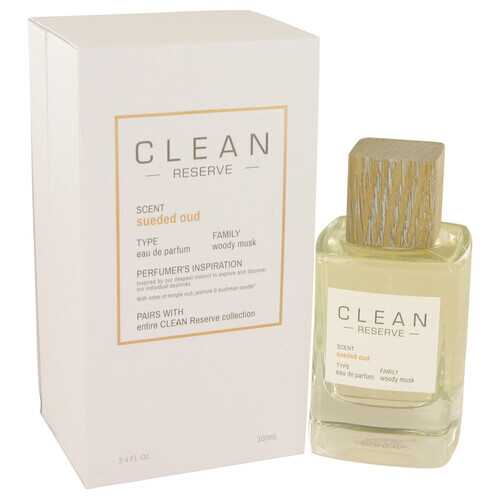 Clean Sueded Oud by Clean Eau De Parfum Spray 3.4 oz (Women) - 100% Authentic Luxury Men's & Women's Fragrances & Cosmetics