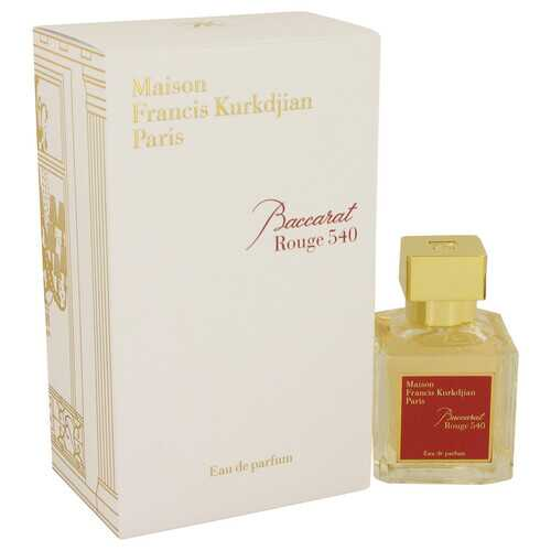 Baccarat Rouge 540 by Maison Francis Kurkdjian Eau De Parfum Spray 2.4 oz (Women) - 100% Authentic Luxury Men's & Women's Fragrances, Cosmetics & Pillows
