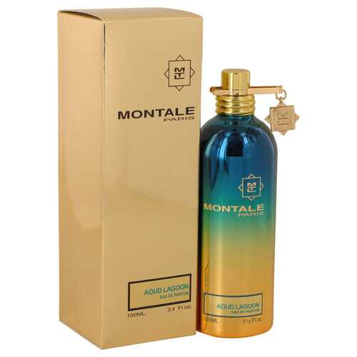 Montale Aoud Lagoon by Montale Eau De Parfum Spray (Unisex) 3.4 oz (Women) - 100% Authentic Luxury Men's & Women's Fragrances, Cosmetics & Pillows