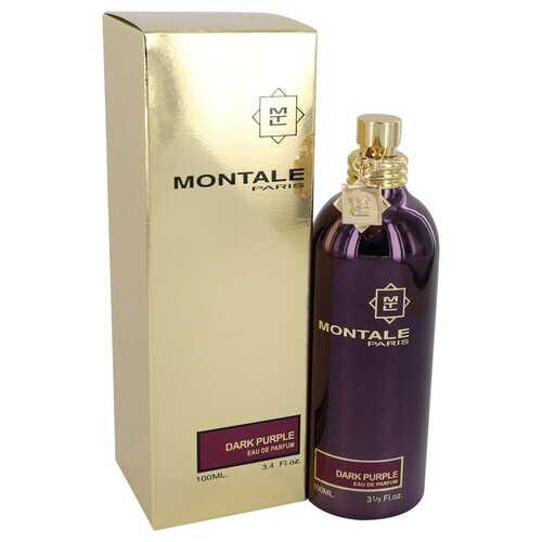 Montale Dark Purple by Montale Eau De Parfum Spray 3.4 oz (Women) - 100% Authentic Luxury Men's & Women's Fragrances, Cosmetics & Pillows