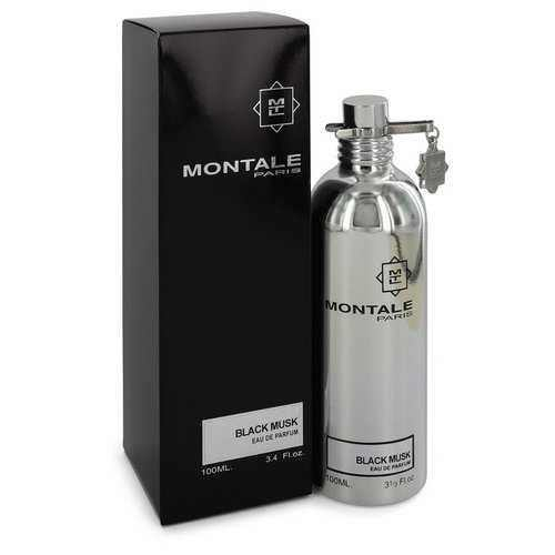 Montale Black Musk by Montale Eau De Parfum Spray (Unisex) 3.4 oz (Women) - 100% Authentic Luxury Men's & Women's Fragrances, Cosmetics & Pillows