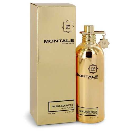 Montale Aoud Queen Roses by Montale Eau De Parfum Spray (Unisex) 3.4 oz (Women) - 100% Authentic Luxury Men's & Women's Fragrances, Cosmetics & Pillows