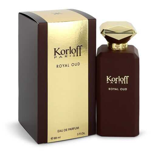 Korloff Royal Oud by Korloff Eau De Parfum Spray (Unisex) 3 oz (Women) - 100% Authentic Luxury Men's & Women's Fragrances, Cosmetics & Pillows