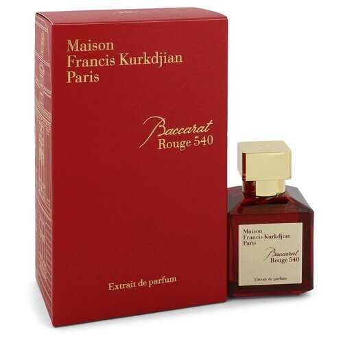 Baccarat Rouge 540 by Maison Francis Kurkdjian Extrait De Parfum Spray (Unisex) 2.4 oz (Women) - 100% Authentic Luxury Men's & Women's Fragrances, Cosmetics & Pillows