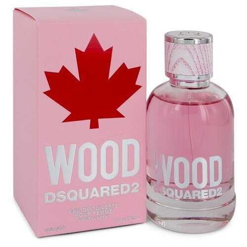 Dsquared2 Wood by Dsquared2 Eau De Toilette Spray 3.4 oz (Women) - 100% Authentic Luxury Men's & Women's Fragrances & Cosmetics