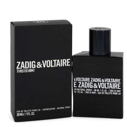 This is Him by Zadig & Voltaire Eau De Toilette Spray 1 oz (Men) - 100% Authentic Luxury Men's & Women's Fragrances, Cosmetics & Pillows