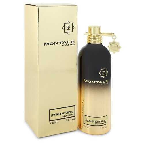 Montale Leather Patchouli by Montale Eau De Parfum Spray (Unisex) 3.4 oz (Women) - 100% Authentic Luxury Men's & Women's Fragrances, Cosmetics & Pillows