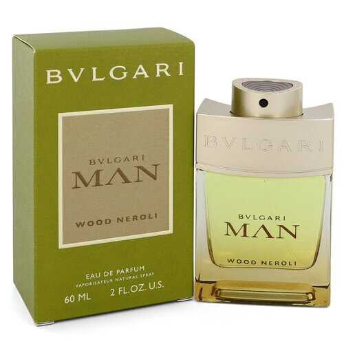 Bvlgari Man Wood Neroli by Bvlgari Eau De Parfum Spray 2 oz (Men) - 100% Authentic Luxury Men's & Women's Fragrances, Cosmetics & Pillows