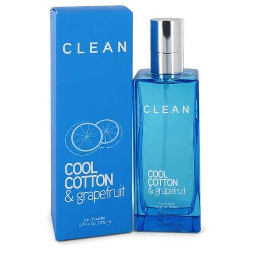 Clean Cool Cotton & Grapefruit by Clean Eau Fraiche Spray 5.9 oz (Women) - 100% Authentic Luxury Men's & Women's Fragrances & Cosmetics
