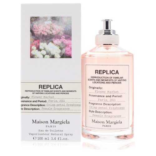 Replica Flower Market by Maison Margiela Eau De Toilette Spray 3.4 oz (Women) - 100% Authentic Luxury Men's & Women's Fragrances, Cosmetics & Pillows