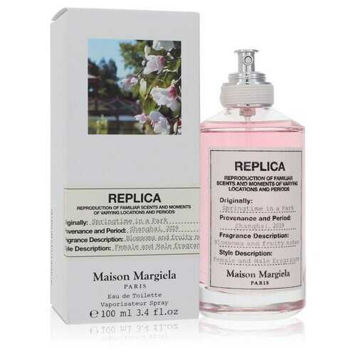 Replica Springtime In A Park by Maison Margiela Eau De Toilette Spray (Unisex) 3.4 oz (Women) - 100% Authentic Luxury Men's & Women's Fragrances, Cosmetics & Pillows