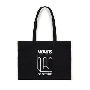 Official PAQ merch.  Ways Of Seeing - Collection 1, limited edition. W.O.S. Tote Bag.
