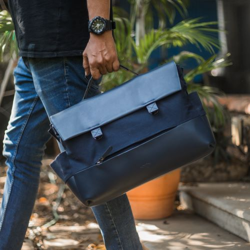 Flapover Laptop Bag