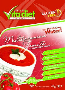 Vita Diet Mediterranean Tomato Soup Single
